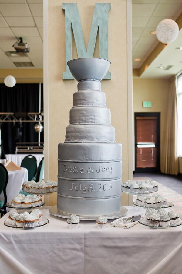 Stanley Cup Wedding Cakes  15 best images about Stanley cup wedding cake on Pinterest