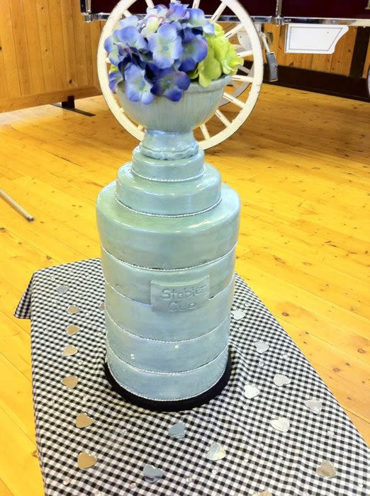 Stanley Cup Wedding Cakes  Stanley Cup wedding cake Cake by cakesbymary CakesDecor