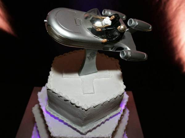 Star Trek Wedding Cakes  star trek wedding cakes Archives The Wedding