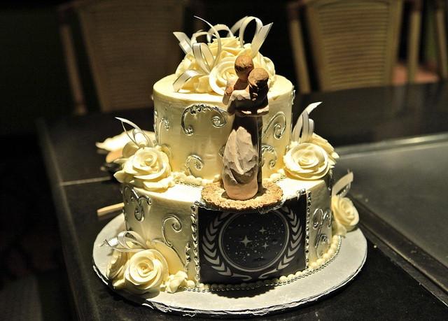 Star Trek Wedding Cakes  109 best Star Trek Theme images on Pinterest