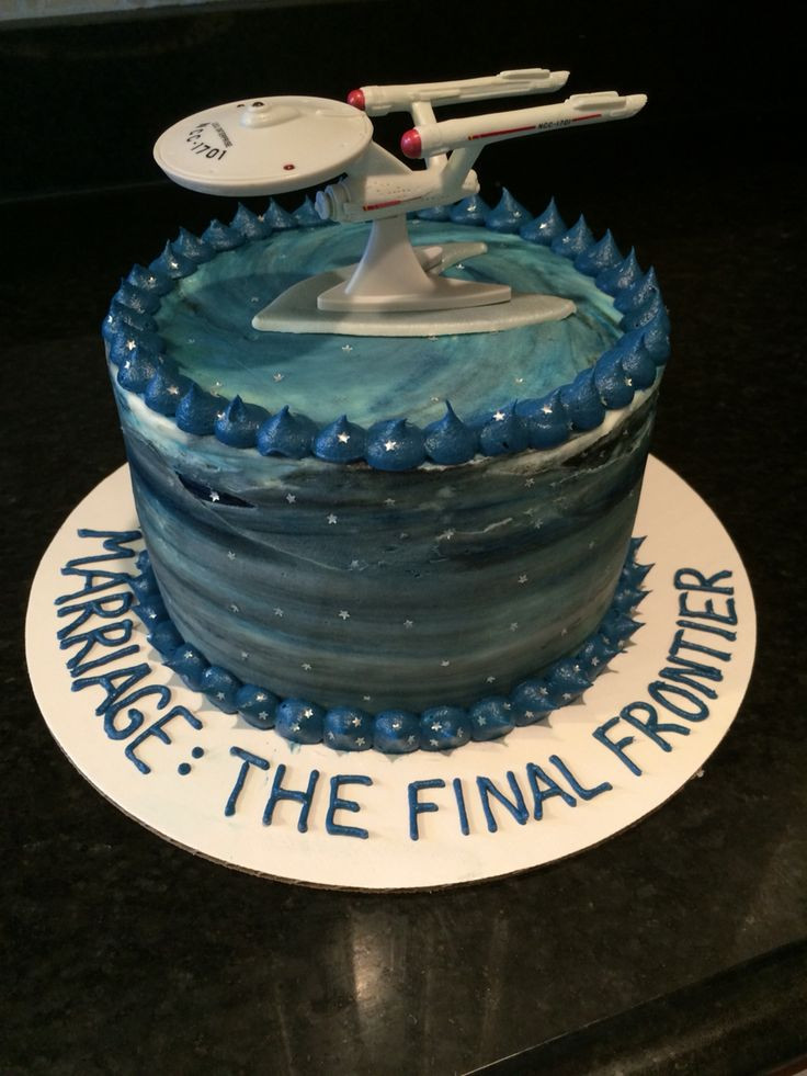 Star Trek Wedding Cakes  17 best ideas about Star Trek Cake on Pinterest