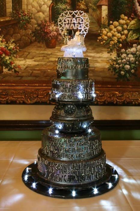 Star Wars Wedding Cakes  15 Unique Star Wars Wedding Cake Ideas The I Do Moment