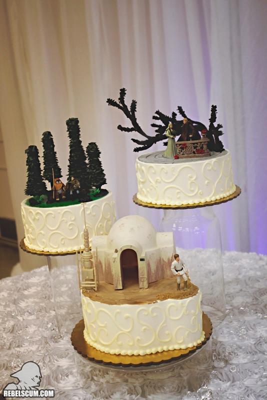 Star Wars Wedding Cakes  Global Geek News Tag Archive