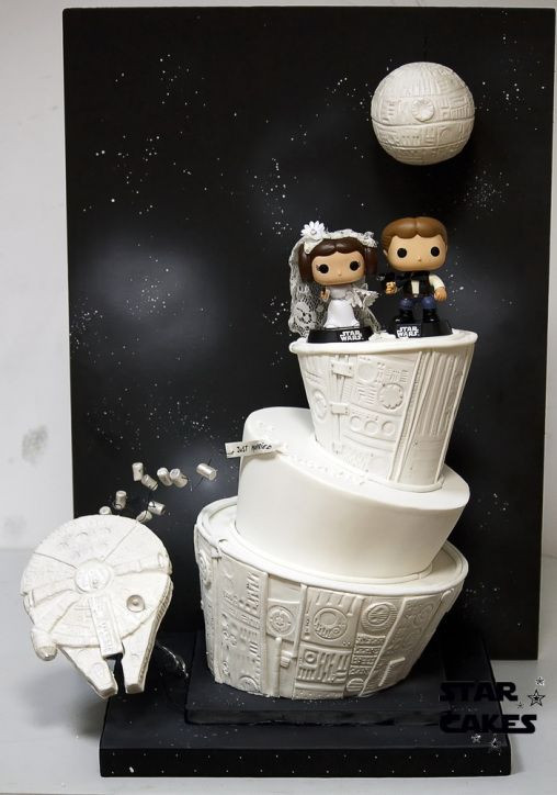 Star Wars Wedding Cakes  Southern Blue Celebrations STAR WARS CAKES