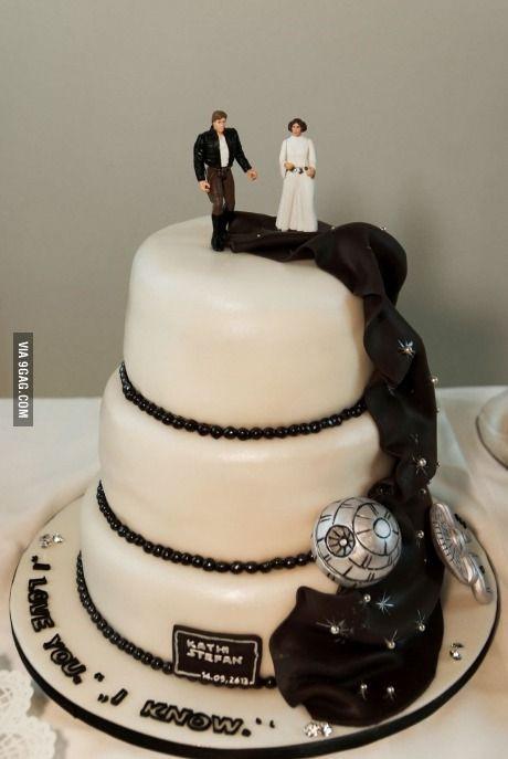 Star Wars Wedding Cakes  15 Torte a tema Star Wars – Stay Nerd