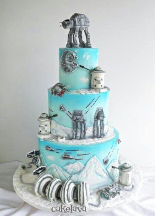 Star Wars Wedding Cakes  Top 20 STAR WARS Wedding Cakes From A Galaxy Far Far Away