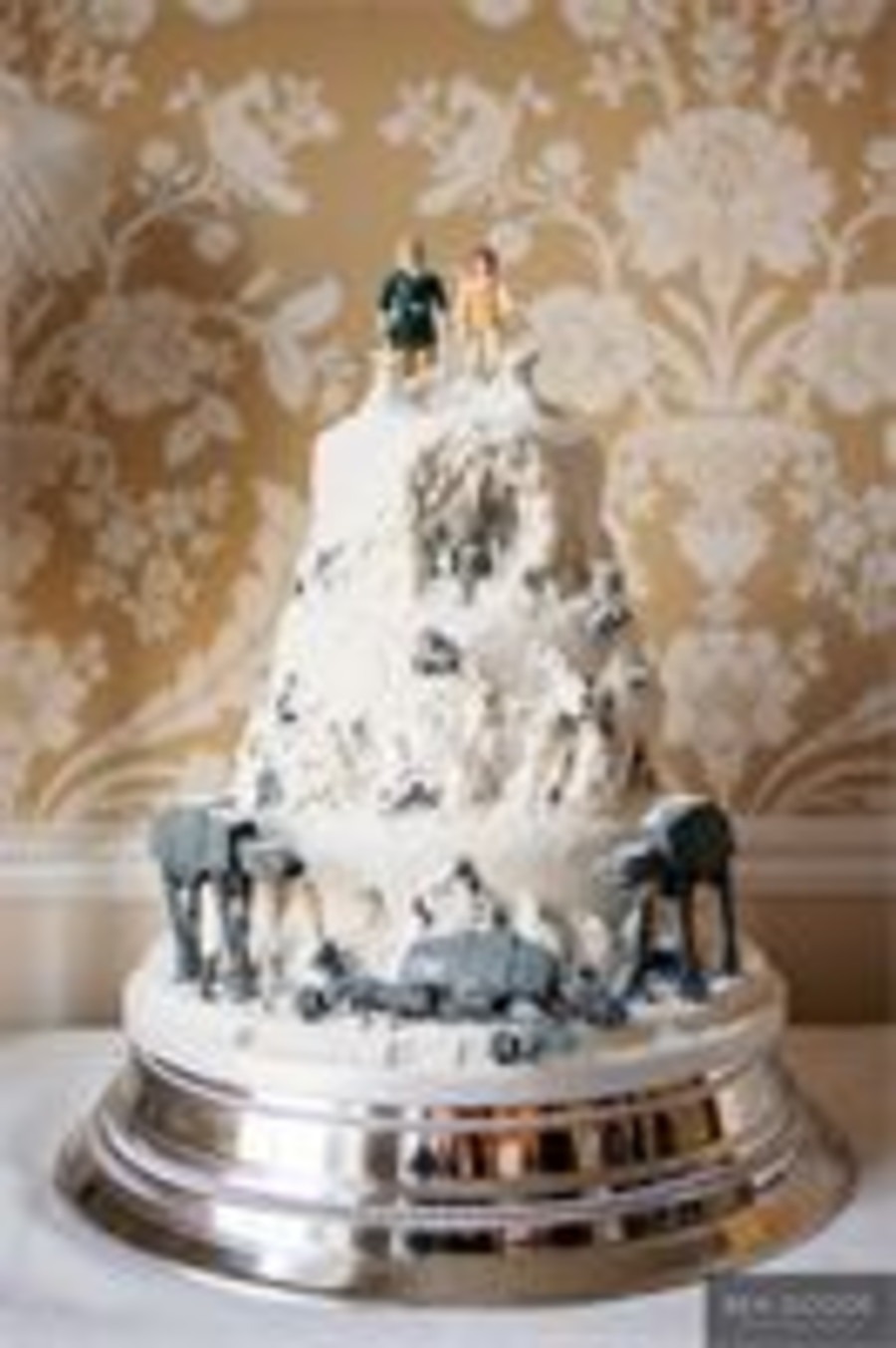 Star Wars Wedding Cakes  Star Wars Wedding Cake CakeCentral