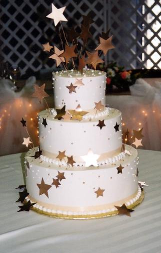 Star Wedding Cakes  Hoa s blog THIS COUPLE TOOK A STAR THEME FOR THEIR