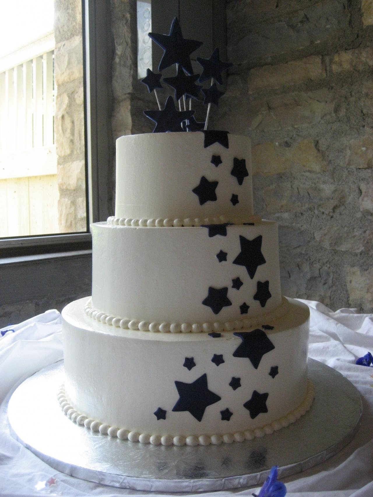 Star Wedding Cakes  Weddings Are Fun Blog A Star Themed Wedding
