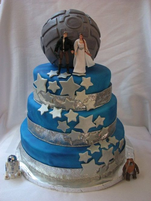 Star Wedding Cakes  15 Unique Star Wars Wedding Cake Ideas The I Do Moment