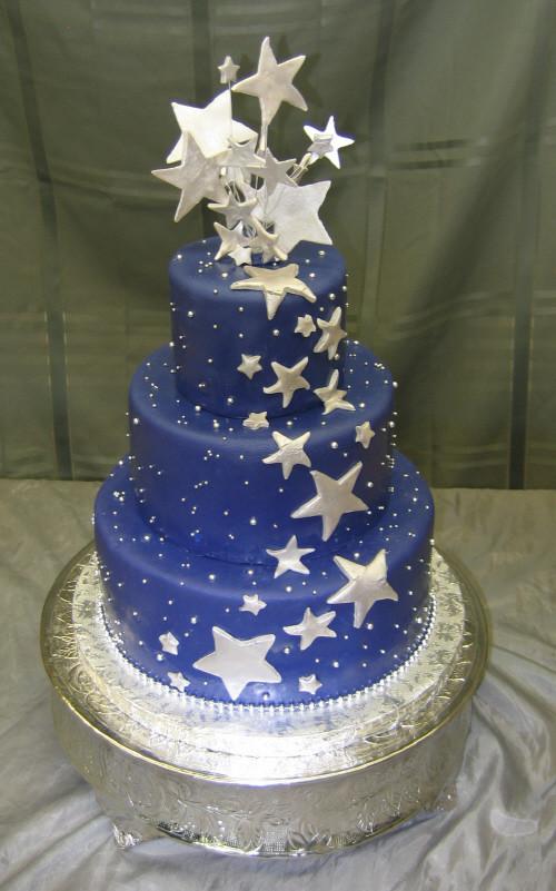 Star Wedding Cakes  SedonaWeddingCakes