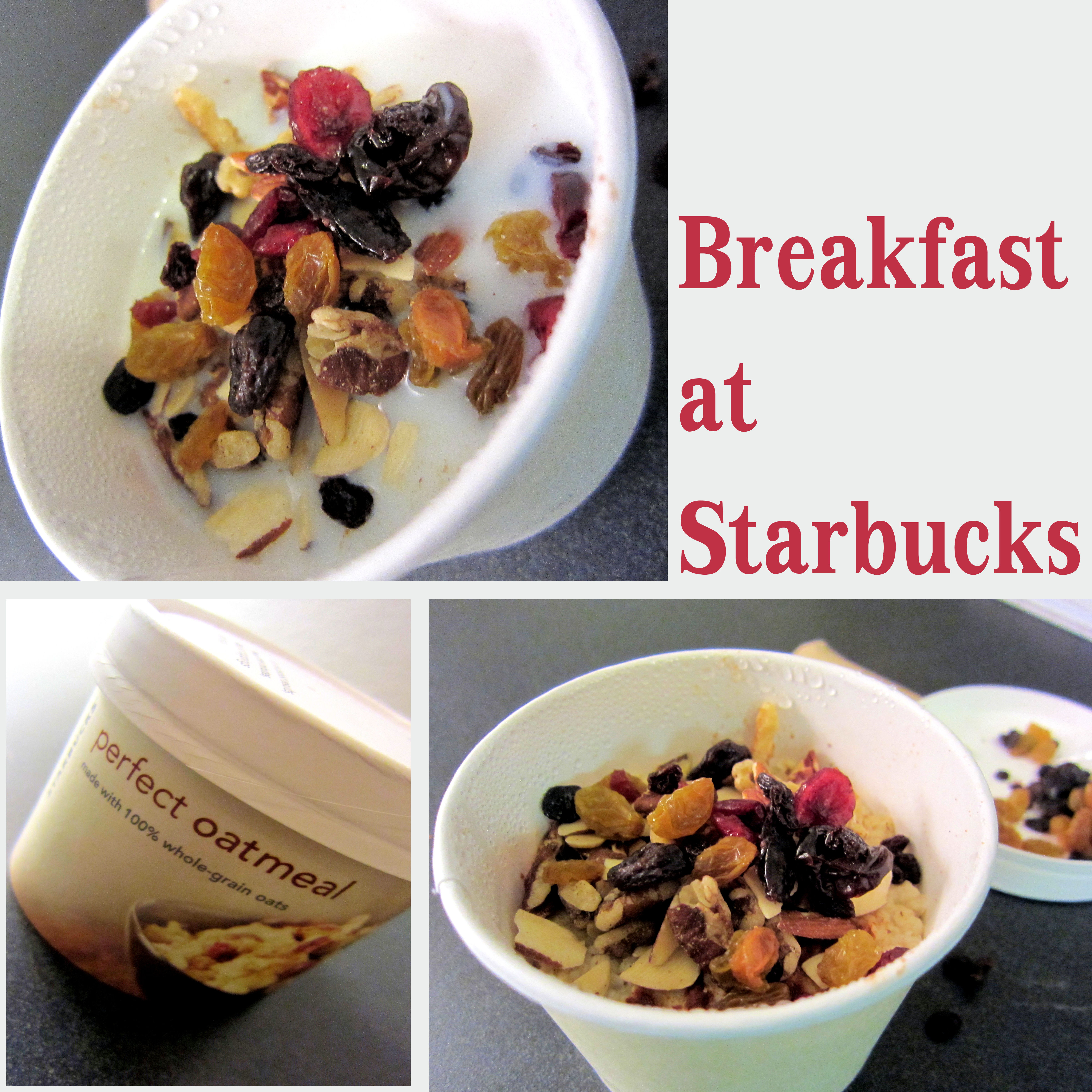 Starbucks Healthy Breakfast  Breakfast at Starbucks