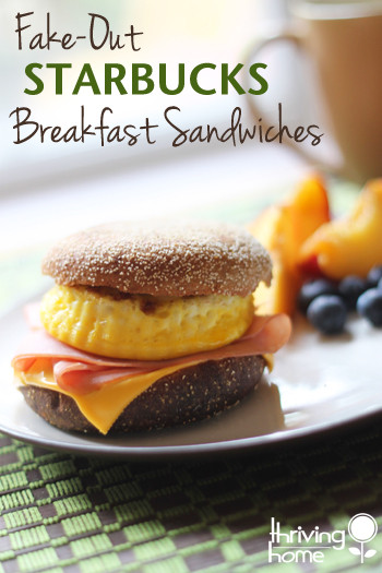 Starbucks Healthy Breakfast  Starbucks Breakfast Sandwiches Freezer Meal