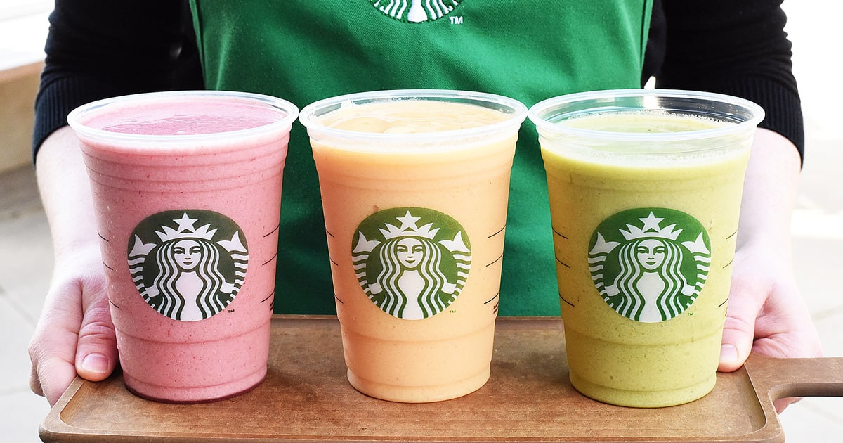 Starbucks Healthy Smoothies  Starbucks fering Kale Smoothies Healthy New Drinks