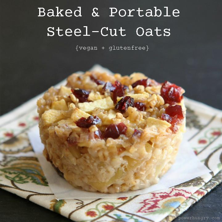 Steel Cut Oats Healthy  baked steel cut oatmeal cups