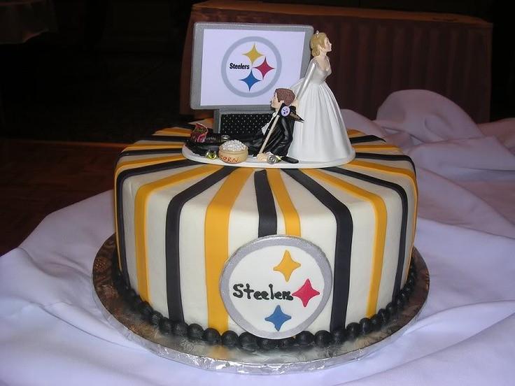 Steeler Wedding Cakes  Steelers Wedding Cake Ideas and Designs
