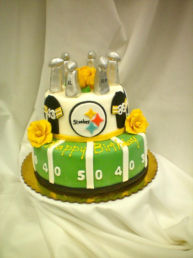 Steeler Wedding Cakes  55 best Steeler Cakes images on Pinterest