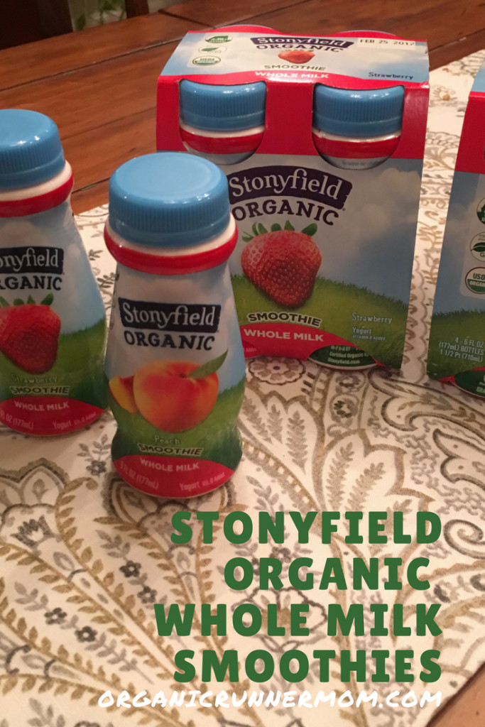 Stonyfield Organic Smoothies  Stonyfield Whole Milk Yogurt Smoothies for the win
