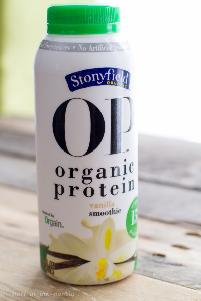 Stonyfield Organic Smoothies  Review Stonyfield OP Organic Protein Smoothies