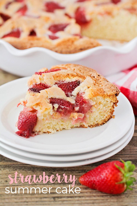 Strawberry Summer Cake  The Baker Upstairs Strawberry Summer Cake