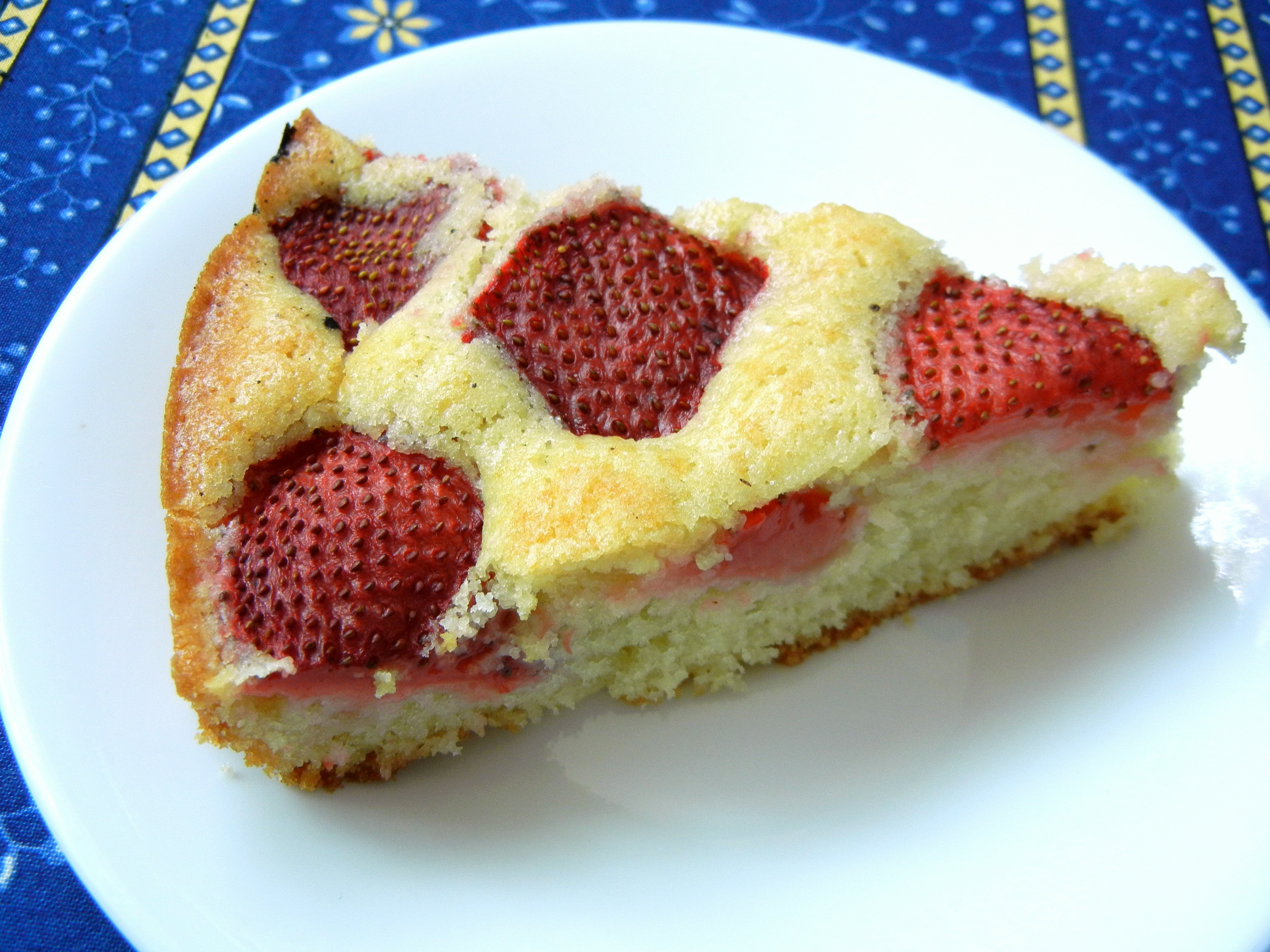 Strawberry Summer Cake  Strawberry Summer Cake – Bakers and Best