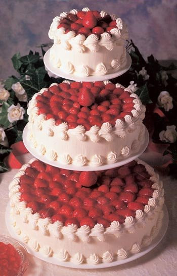 Strawberry Wedding Cake Recipes  Cheesecake Wedding Cake