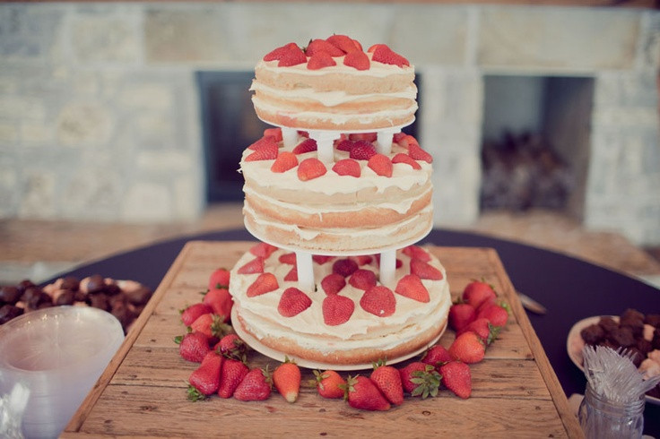 Strawberry Wedding Cake Recipes  strawberry shortcake wedding cake