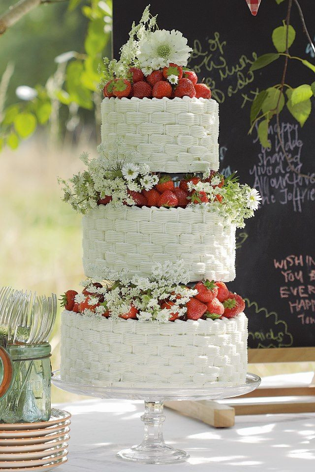 Strawberry Wedding Cake Recipes  strawberry wedding cake