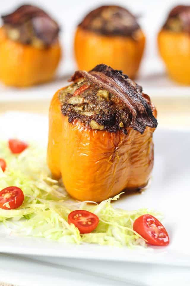 Stuffed Bell Peppers Healthy  Paleo Stuffed Bell Peppers