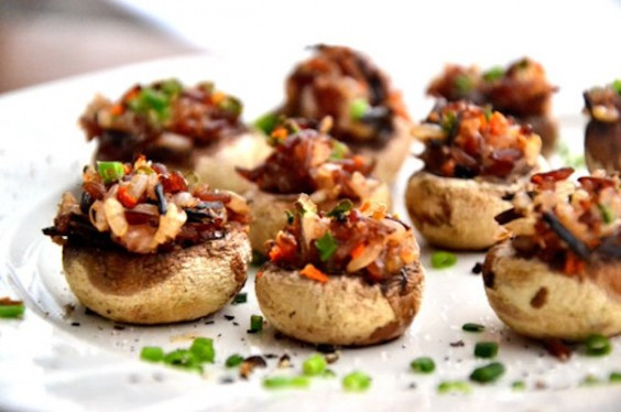 Stuffed Mushrooms Healthy  Around the Web 10 healthy holiday party snacks