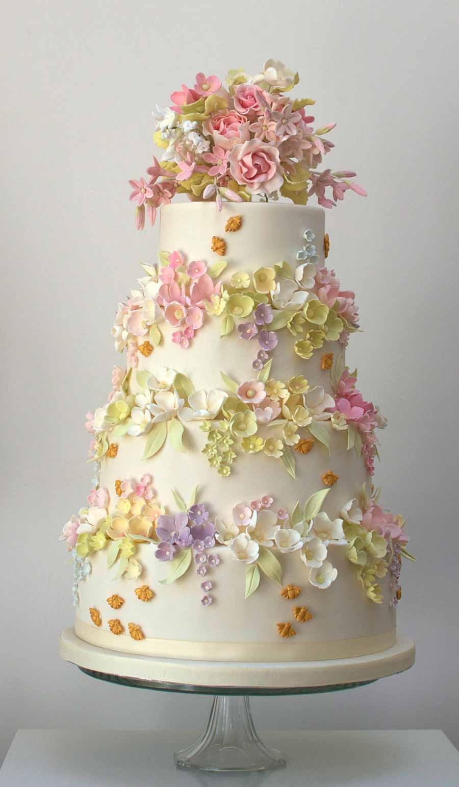 Stunning Wedding Cakes  Top 50 UK Wedding Cake Designers