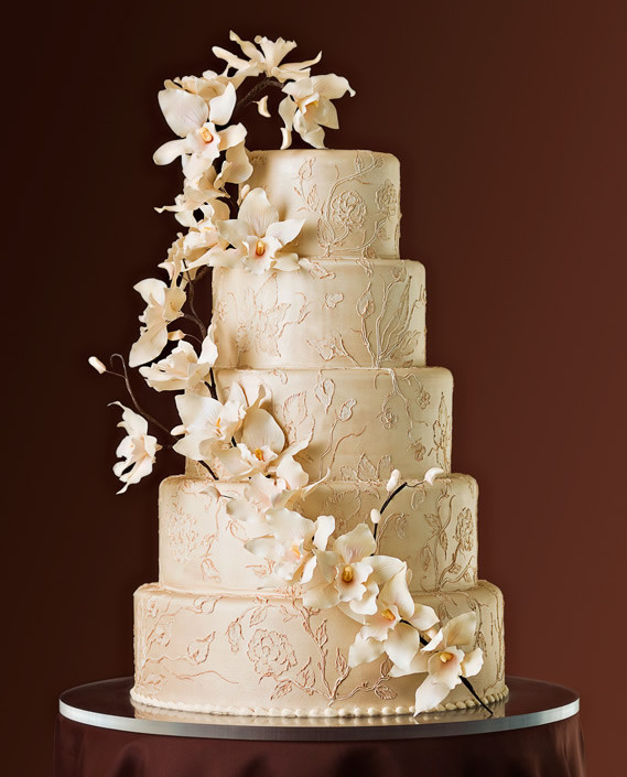 Stunning Wedding Cakes  Most Beautiful Wedding Cakes World s Most Stunning and