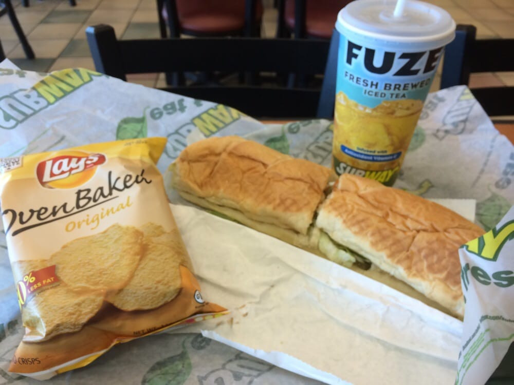 Subway Healthy Breakfast  Tag SubwayHeartTruth on Instagram with $5 footlong & they