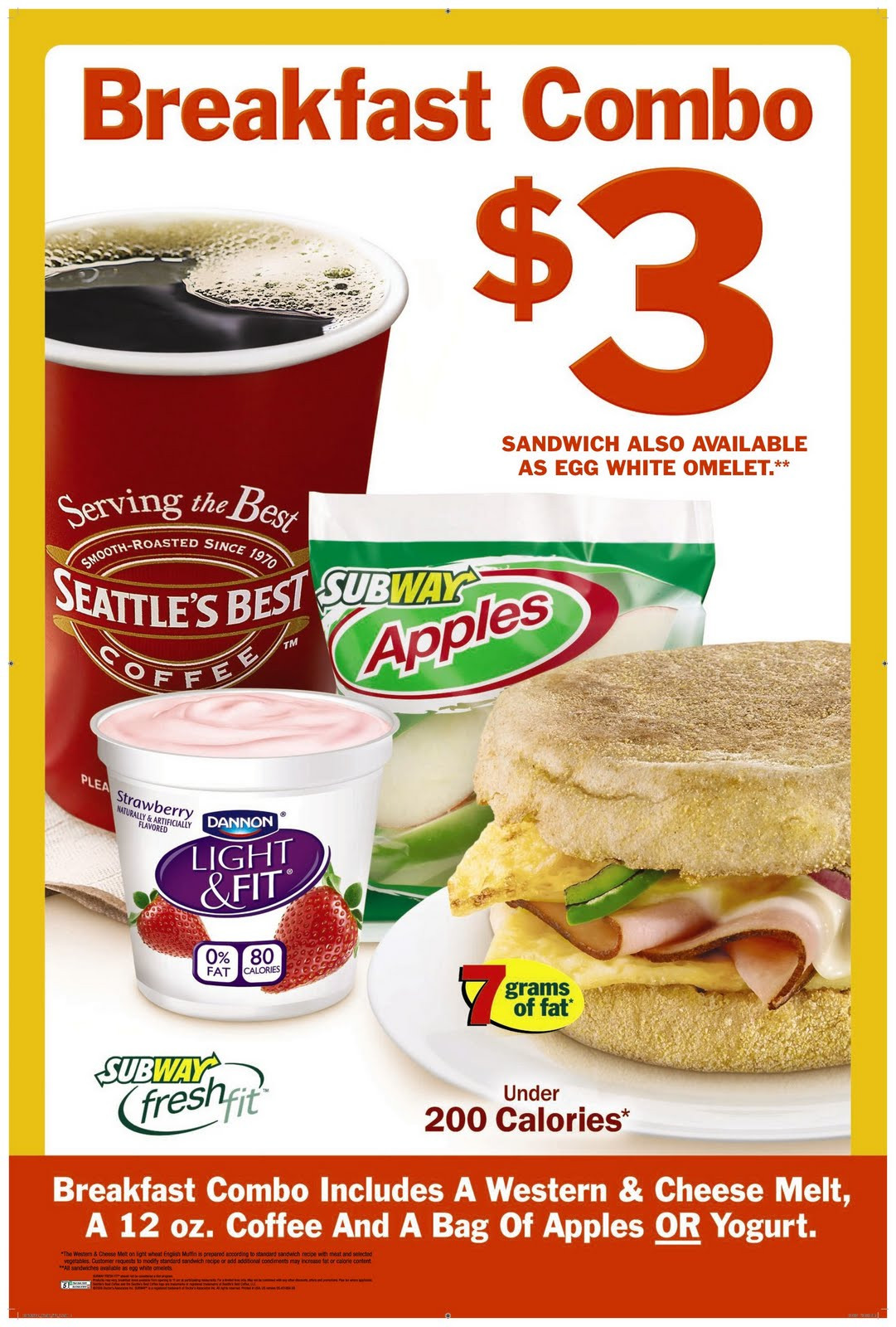 Subway Healthy Breakfast  Subway Now Has Breakfast Review and Giveaway