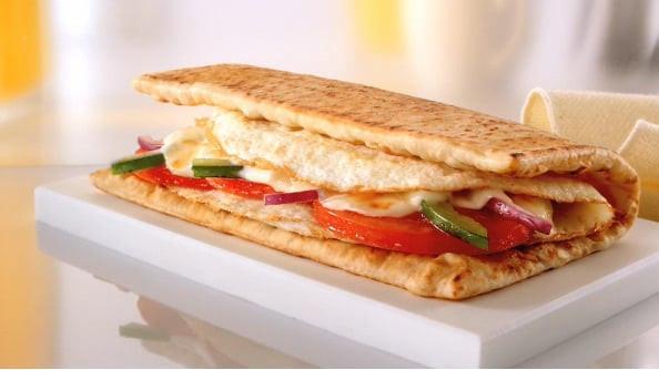 Subway Healthy Breakfast  Subway Egg and Cheese Breakfast Sandwich