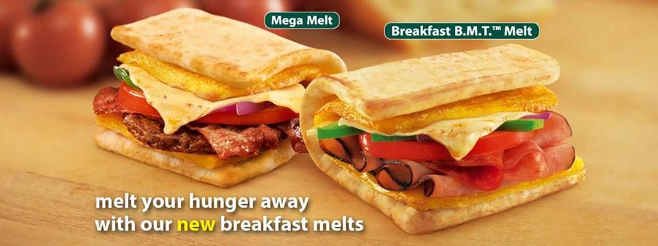 Subway Healthy Breakfast  Subway Breakfast Menu