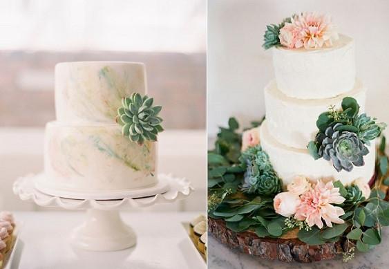 Succulent Wedding Cakes  Gumpaste Succulent Tutorials – Cake Geek Magazine
