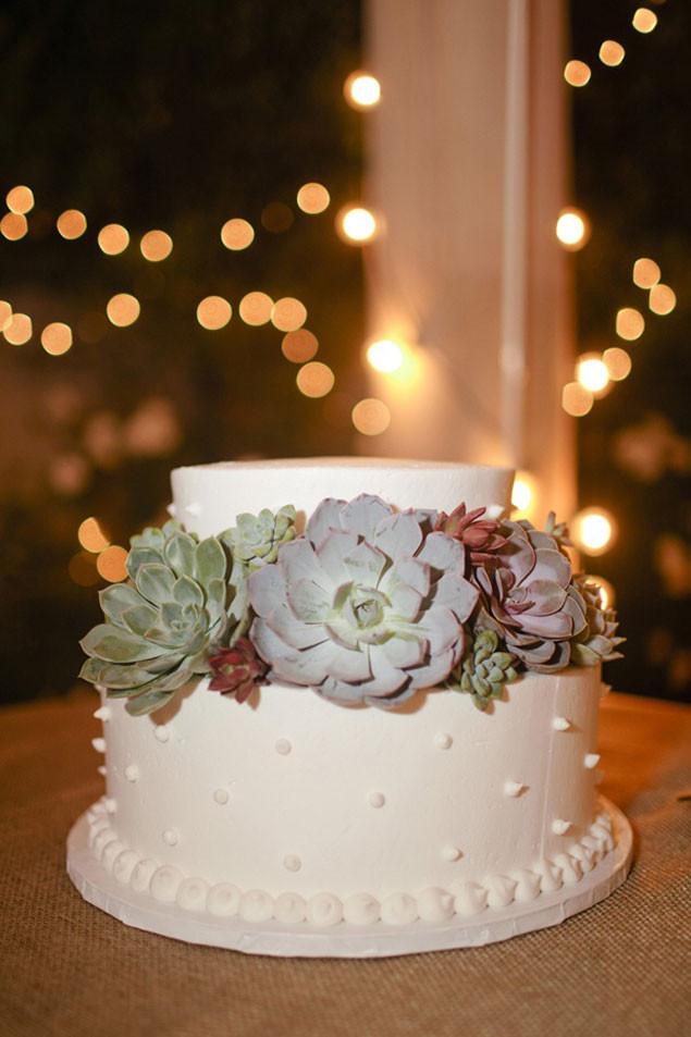 Succulent Wedding Cakes  Succulent Wedding Cakes