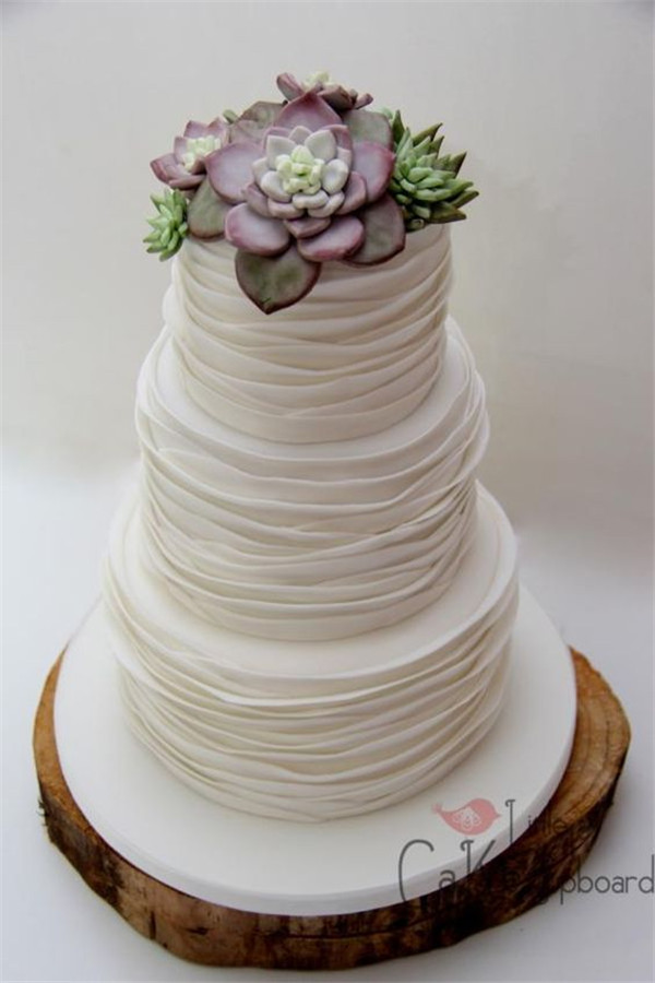 Succulent Wedding Cakes  20 Succulent Wedding Cake Inspiration That Wow