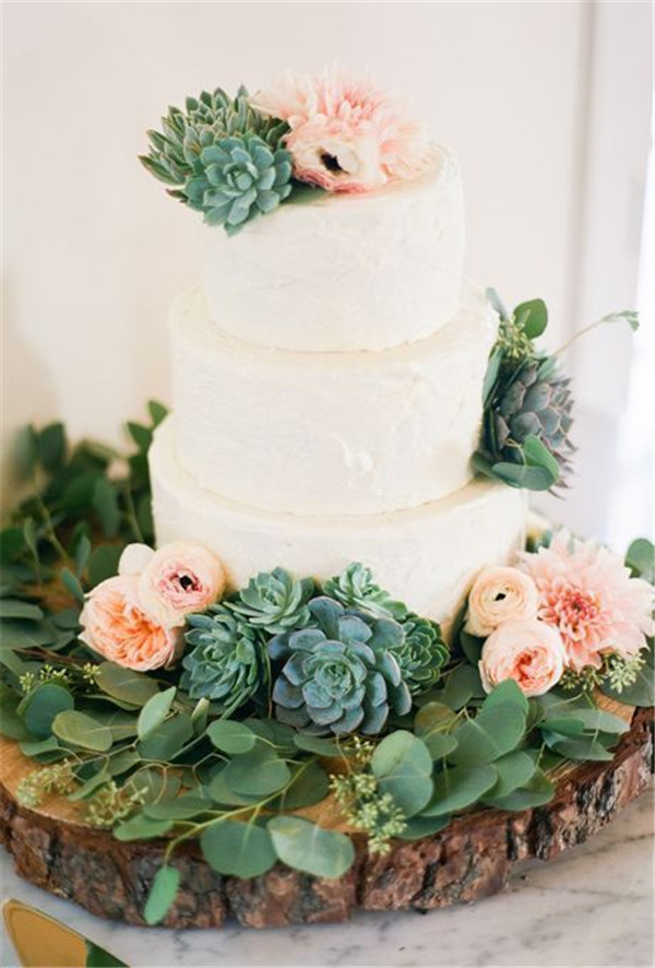 Succulent Wedding Cakes the Best Ideas for 20 Succulent Wedding Cake Inspiration that Wow