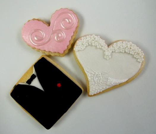 Sugar Cookies Wedding Favors  Confectionary Designs Wedding Sugar Cookies