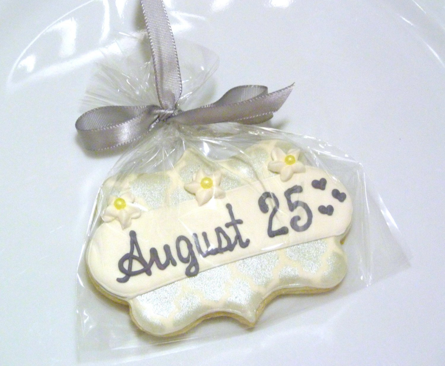 Sugar Cookies Wedding Favors  Wedding Plaque Sugar Cookie Favors Custom by SweetRoseCookies