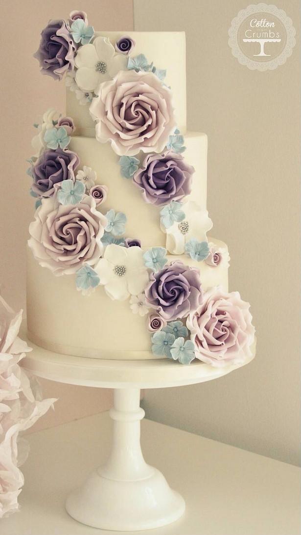 Sugar Flowers For Wedding Cakes  Wedding Cake Ideas Sugar Flowers Belle The Magazine