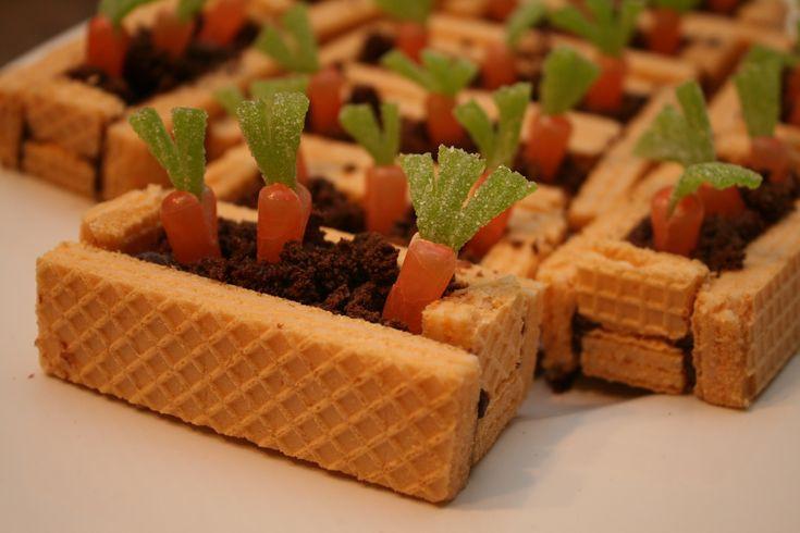 Sugar Free Easter Desserts  Carrot Garden Beds what a cute Easter dessert using U
