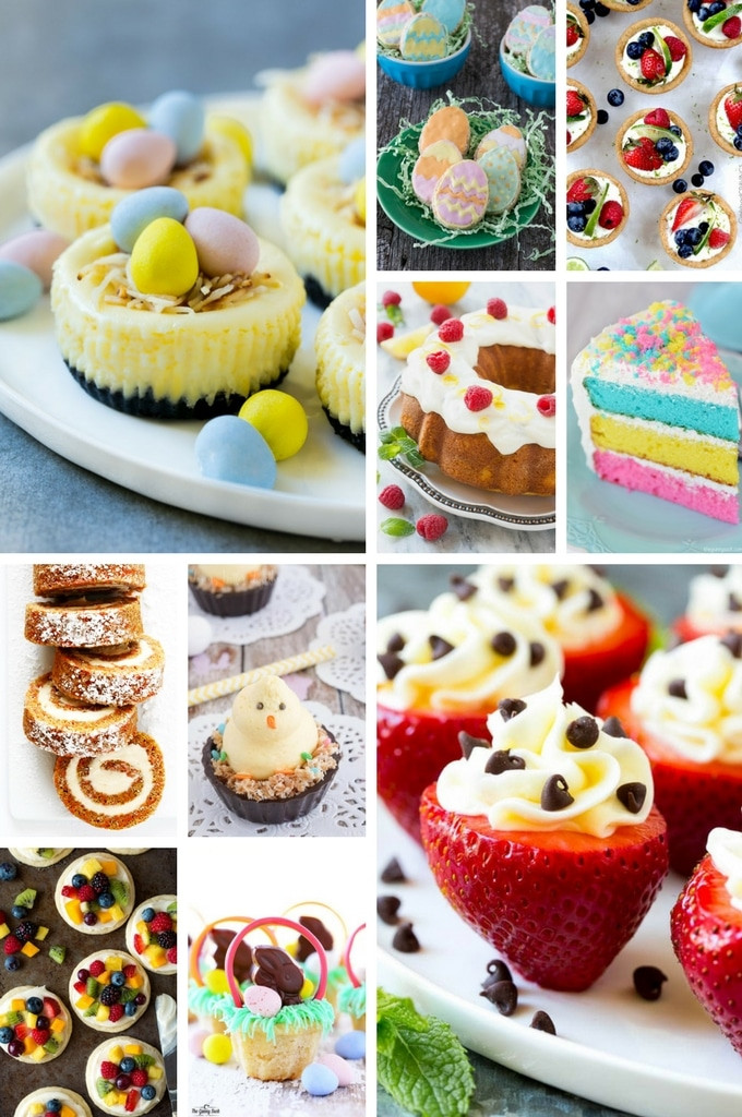 Sugar Free Easter Desserts  50 Festive Easter Dessert Recipes Dinner at the Zoo