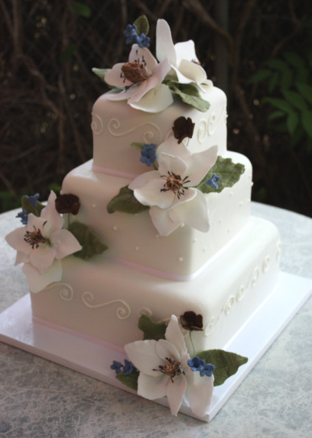 Sugar Free Wedding Cakes  Sugar Magnolia Wedding Cake – Sedona Wedding Cakes