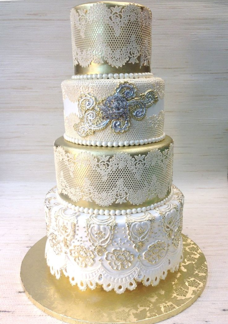 Sugar Free Wedding Cakes  53 best images about Custom Wedding cakes with sugar lace