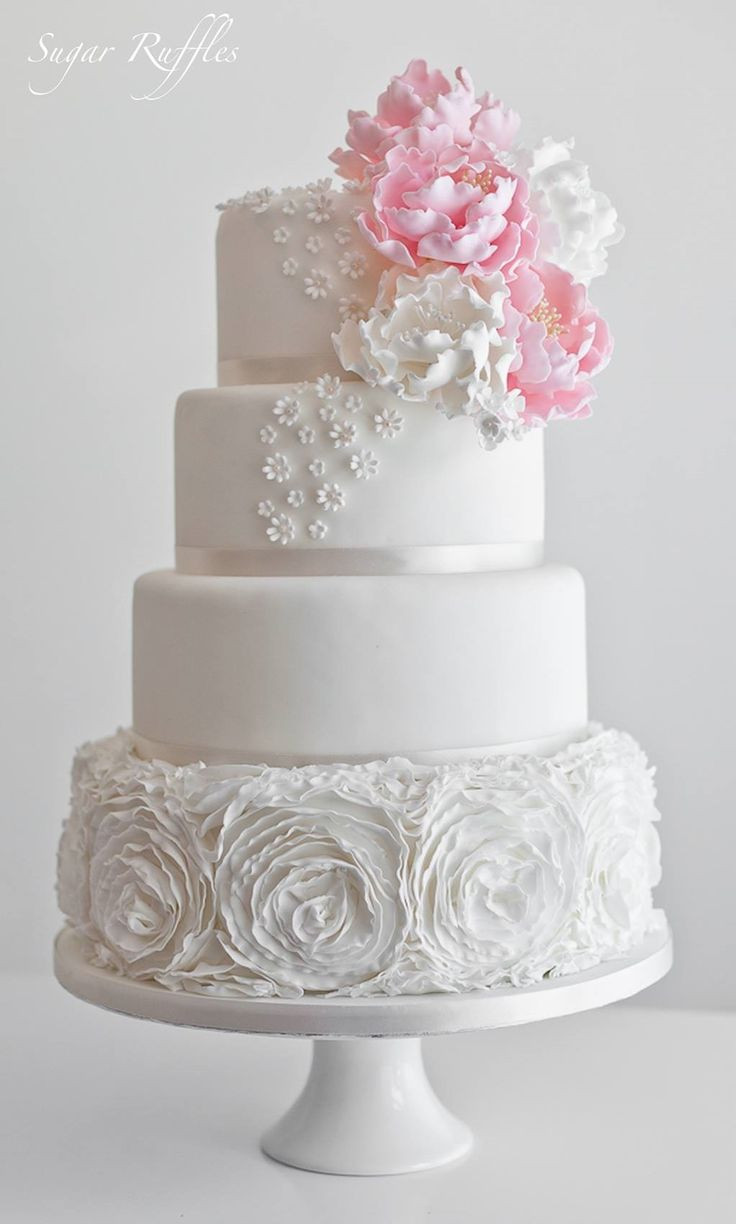 Sugar Free Wedding Cakes  Sugar Ruffles Wedding Cakes