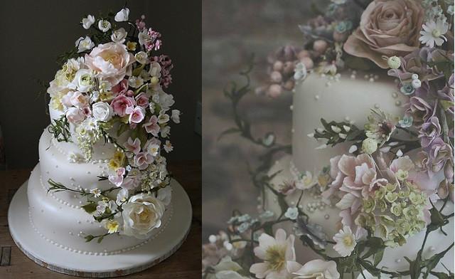 Sugarcraft Flowers Wedding Cakes  Sugar Flower Tutorials Cake Geek Magazine Cake Geek