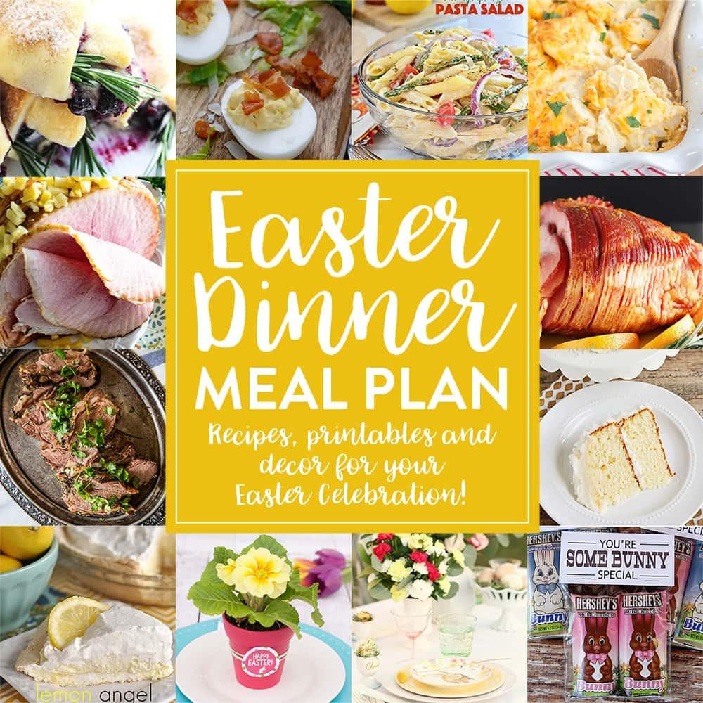 Suggestions For Easter Dinner  Easter Dinner Meal Plan Honey and Birch